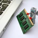 馬鹿なロボットと高機能なロボット