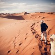 'Sahara Guide', Morocco, Merzouga, Erg Chebbi, Sahara Desert / chrisschoenbohm